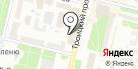 Каскад Вин на карте