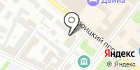 Катарина на карте