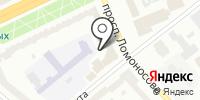 Глория-Дент на карте