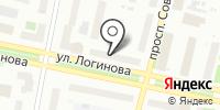 Антенный мир на карте