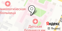 Областная детская клиническая больница им. П.Г. Выжлецова на карте