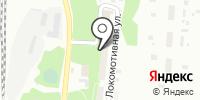 Исакогорка на карте