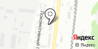 Катрон на карте