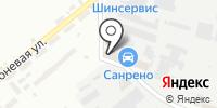 Автокраска на карте
