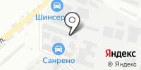 Лапидус на карте