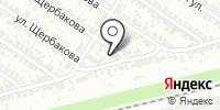 Бумеранг на карте