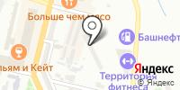 Севилья на карте