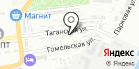 Окна на Таганке на карте