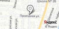 Сторож на карте