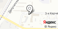 Югземстрой на карте