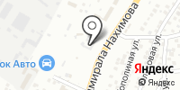 Анкер на карте