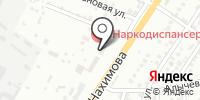 Астрамарин на карте