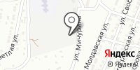 Астраханское на карте