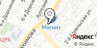 Першерон на карте
