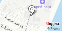 Ахтубинский грузовой порт на карте