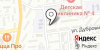 Аква-Дельта на карте