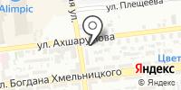 КРЕПЕЖ на карте