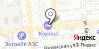 Корона на карте