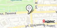 Областная детская библиотека на карте