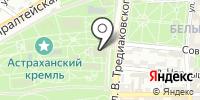 Успенский кафедральный собор на карте