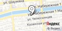 Министерство строительства и дорожного хозяйства Астраханской области на карте