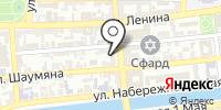 Полина на карте