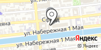 Дюймовочка на карте