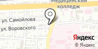 Оливин на карте