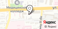 Орто на карте