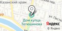 Дом купца Тетюшинова Г.В. на карте