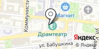 Астраханский государственный драматический театр на карте