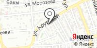 Магнолия на карте