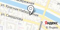Донской на карте