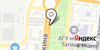 Фанат на карте