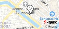 Служба ветеринарии Астраханской области на карте