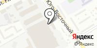 Восток-К на карте
