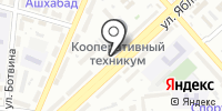 Адамант на карте