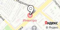Эвита на карте