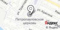 Петро-Павловский храм на карте