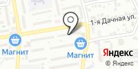 Башак на карте