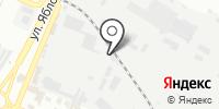 Золотая лоза на карте