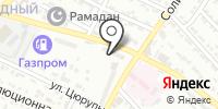 Галла на карте