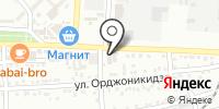 Магазин отделочных материалов и сантехники на карте