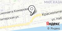 Новая Жизнь на карте