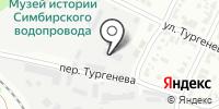 Правый берег на карте