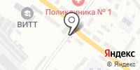 Нино на карте