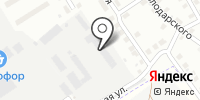 Профсталь на карте