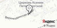 Погрузчик на карте