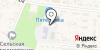Чернореченская средняя общеобразовательная школа на карте