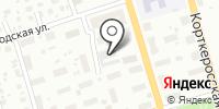 Школьная на карте